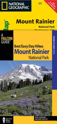 Best Easy Day Hiking Guide and Trail Map Mount Rainier National Park By Schneider, Heidi/ Skjelset, Mary